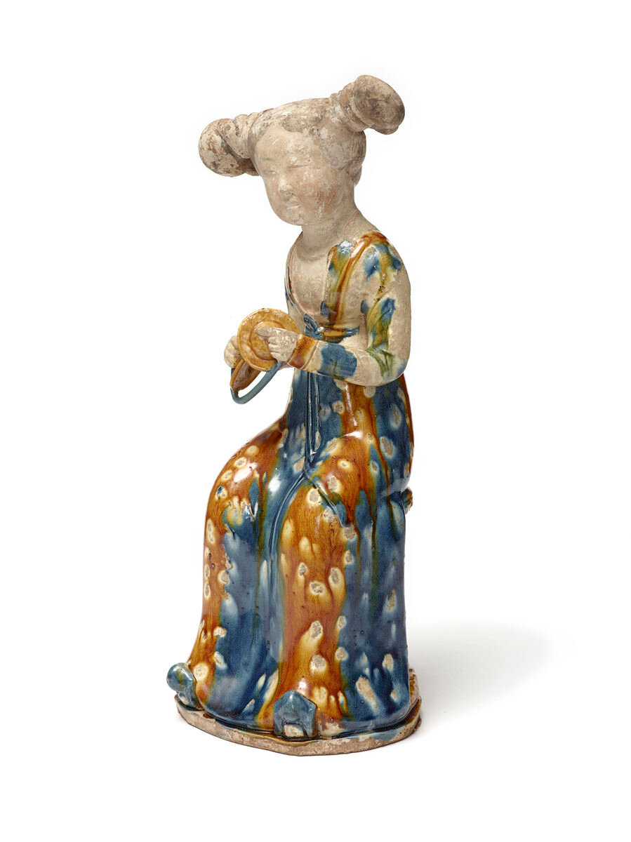 Tang dynasty, 618–907, Court Lady, 8th century, Asia Society, New York