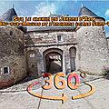 Sur le chemin de jeanne d'arc, château d' huisseau-sur-mauves et l'ancienne église saint-pierre-aux-liens