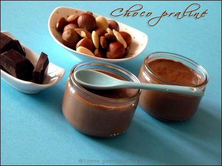 crème choco praliné