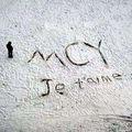 Je t'aime sur la neige