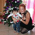 Patricia avec le petit Maxence