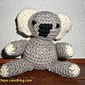 Amigurumi : koala