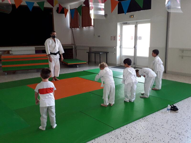 La rentrée au Judo