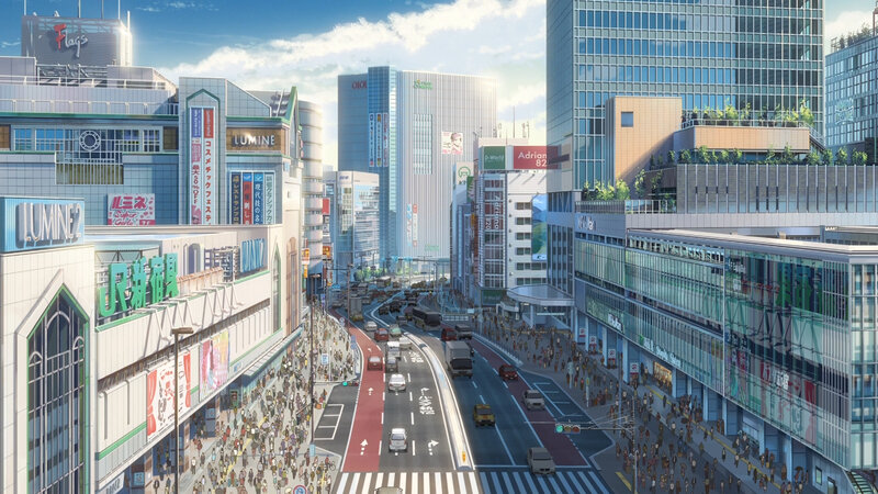 Canalblog Anime Makoto Shinkai Your Name Tôkyô03