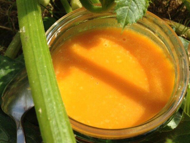 soupe bébé potiron carotte patate douce