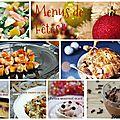 6 idées de menus de noël / menus de réveillon: léger, prêt d'avance, picard, monop, pas cher, ou cétogène !
