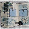 Book of tags bleu 3