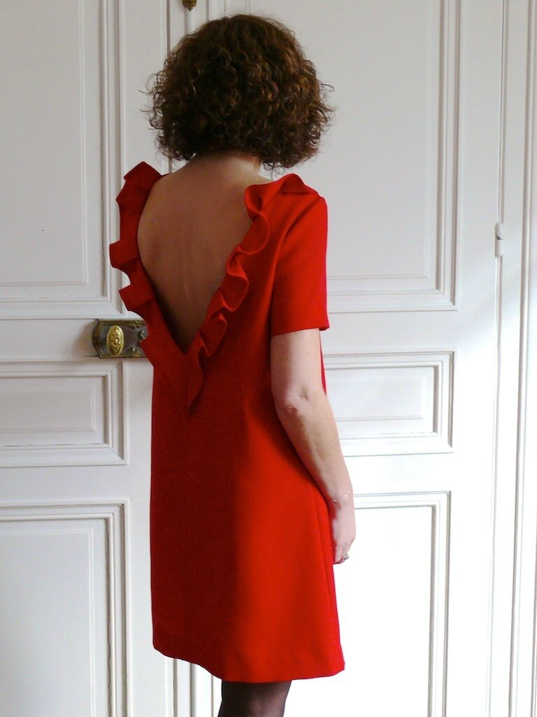 4dba136ba47 La petite robe rouge - Bee made