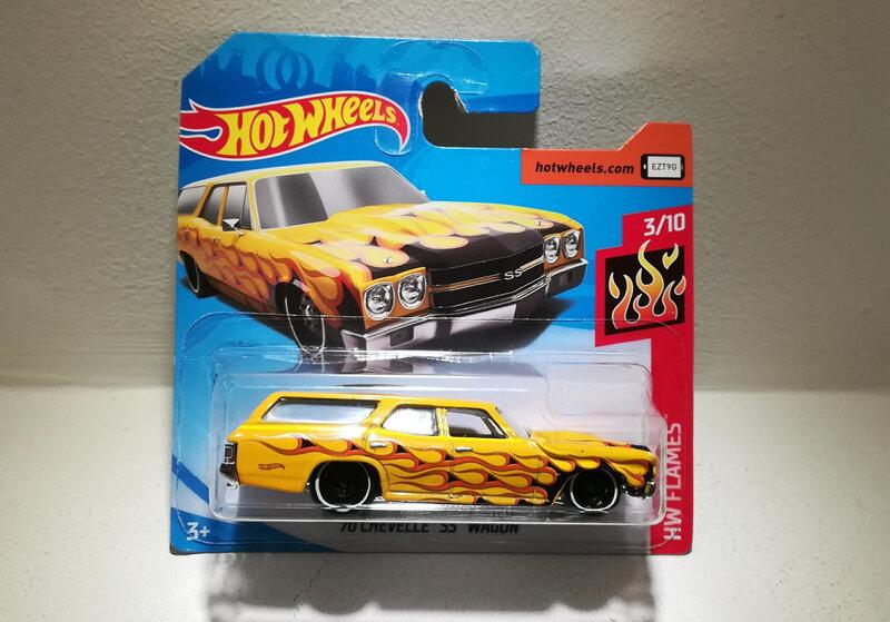 Chevrolet Chevelle SS Wagon de 1970 (Hotwheels)