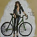 illustration on va faire du vélo darling