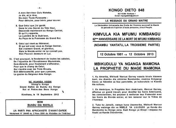 Kongo Dieto 848 a