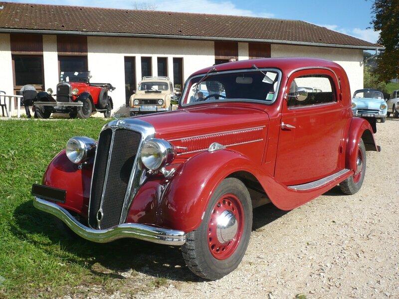 SALMSON S4-61 10CV coupé 2 portes 1938 Thoirette (1)