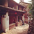 Heijing une petite ville coincée dans une vallée du yunnan - réputée pour la fabrication de sel.