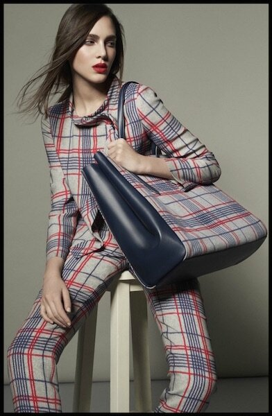giorgio armani collection spring tartan capsule 1