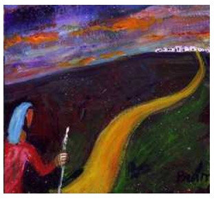 chemin, Berna Lopez