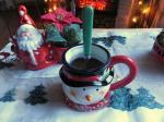 Chocolat à l'Italienne aux épices de Noël