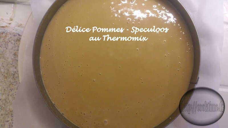 Delice pommes speculoos thermomix 8