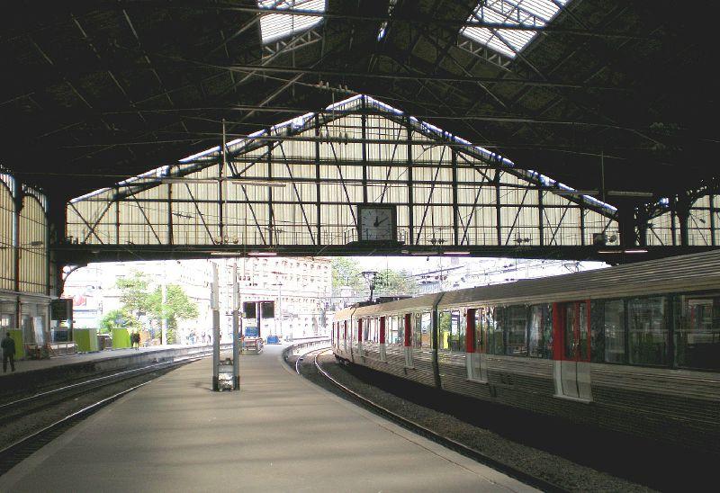 Gare Saint-Lazare Les quais