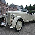 Adler trumpf junior sport roadster 1935
