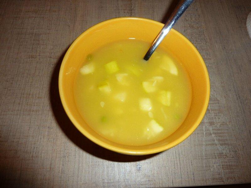 Soupe de légumes au TM31