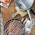Le gâteau au yaourt revisité en un moelleux aux myrtilles