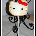 Sucettes sablés hello kitty