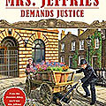 Mrs. jeffries demands justice, d'emily brightwell