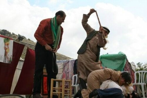Homosexual caning
