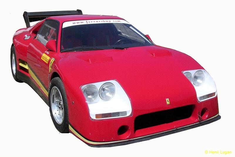 Ferrari 308 IMSA # - 1984