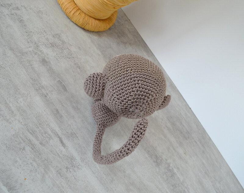 Ouistiti-singe-crochet-la chouette bricole (10)