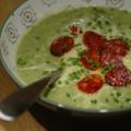 Velouté de choux, chou fleur & chou kale, aux épices
