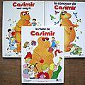 Albums CASIMIR - collection G.P. Rouge et Or - années 70