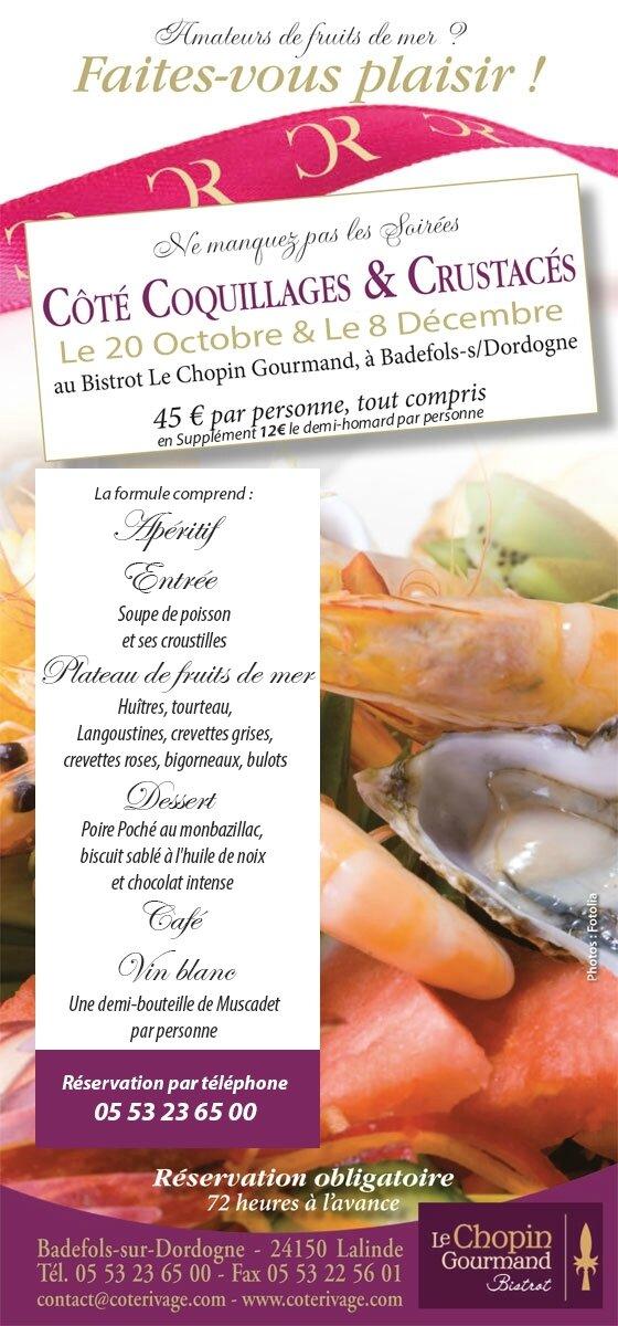 Chopin est gourmand à Badefols sur Mer !