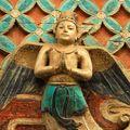 Site du bouddha couché de Dazu