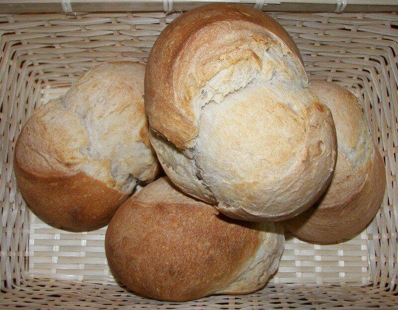 Petits pains au levain