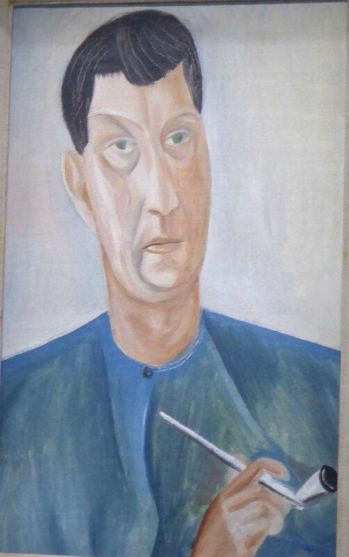 Derain Autoportrait à la pipe 1913-1914