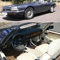 JAGUAR - XJS Cabriolet V12 - 1988