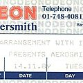 Aerosmith - mardi 14 novembre 1989 - hammersmith odeon (london)