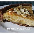 Tarte aux pommes à la normande : avec et sans gluten ....