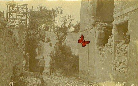 MALANCOURT_JUIN_1915_PRESBYTERE_ET_EGLISEBIS