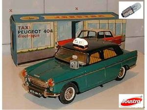 PEUGEOT 404 TAXI ELECTRICO JOUSTRA 1