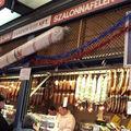 Budapest Vasarcsarnok (marché central) ; Etals