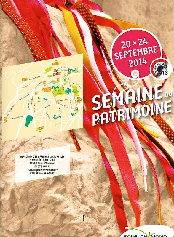 programme semaine Ptarimoine 2014