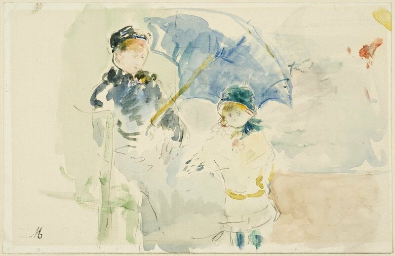 Morisot_-_At_the_Beach_in_Nice,_1882