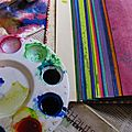 """Reportage - stage """"art journal inspiration"""" jour 1"""