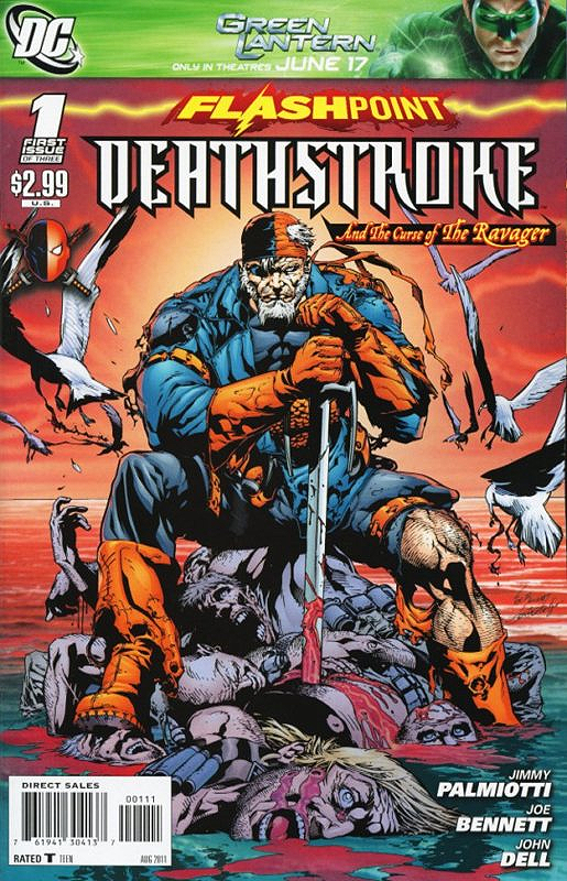 flashpoint deathstroke and the curse of the ravager 1
