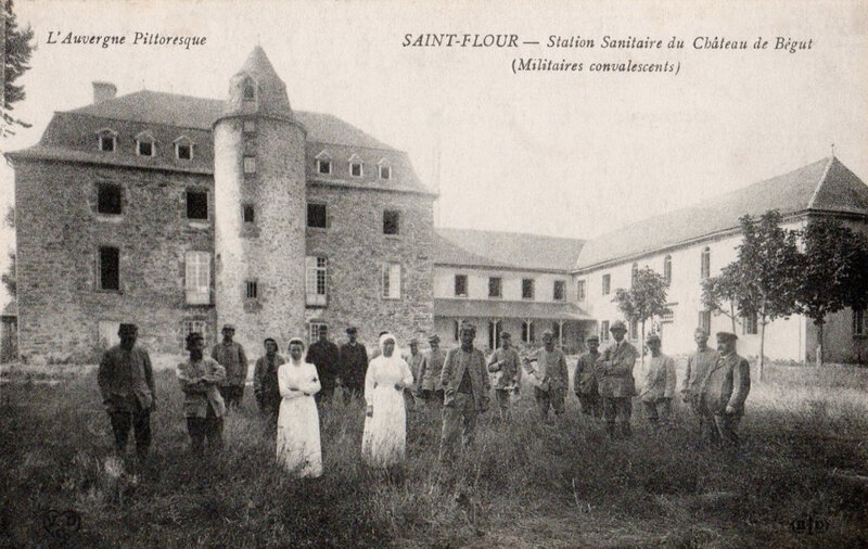 station sanitaire du Bégut, Saint-Flour (Cantal)