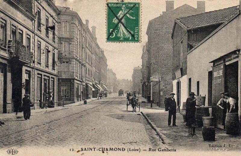 rue Gambetta, tonnellerie Claret