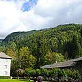 abbaye et montagne