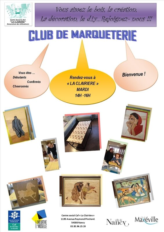 Flyer Marqueterie